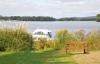 Прекрасный земельный участок возле озера с виллой и крытым бассейном